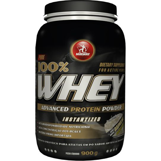 Whey Protein Advanced Midway Baunilha 900g