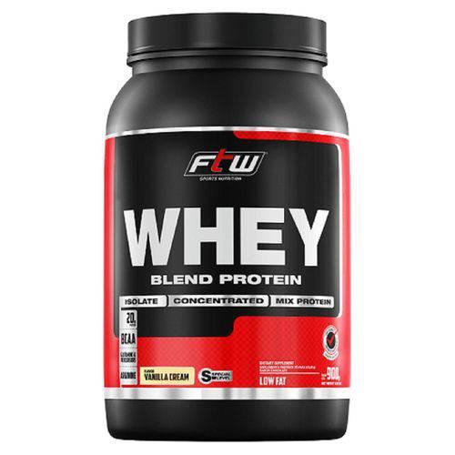 Whey Protein Blend 900g Sabor Baunilha FTW