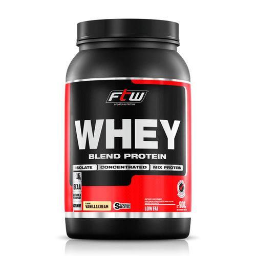 Whey Protein Blend Ftw - 900gr - Baunilha