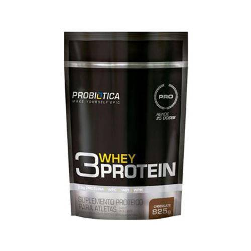 3 Whey Protein Chocolate 825g Probiótica