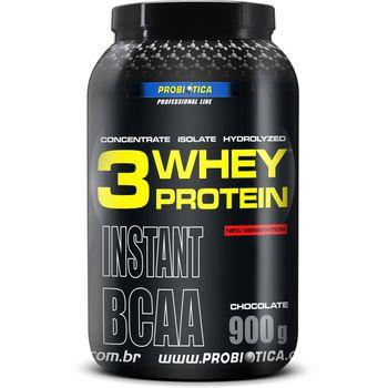 3 Whey Protein Chocolate 900g - Probiótica