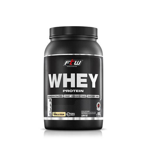 Whey Protein Concentrado 60% Ftw - 900gr - Baunilha