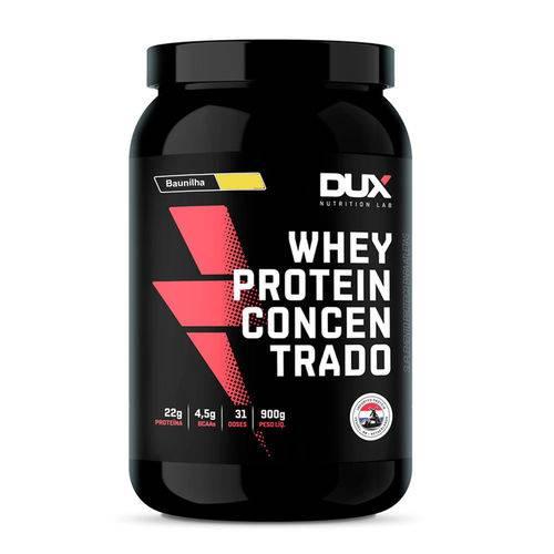 Whey Protein Concentrado 900g - Sabor Baunilha - Dux Nutrition
