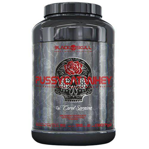 Whey Protein Concentrado Pussycat Whey - Black Skull - 907grs