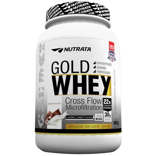Whey Protein Gold 900gr Proteína Hidrolisado Nutrata