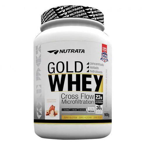 Whey Protein GOLD WHEY - Nutrata Suplementos - 900g