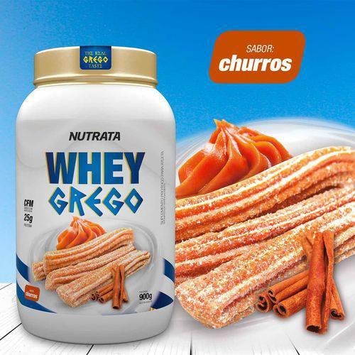 Whey Protein Grego - Nutrata Suplementos - 900g