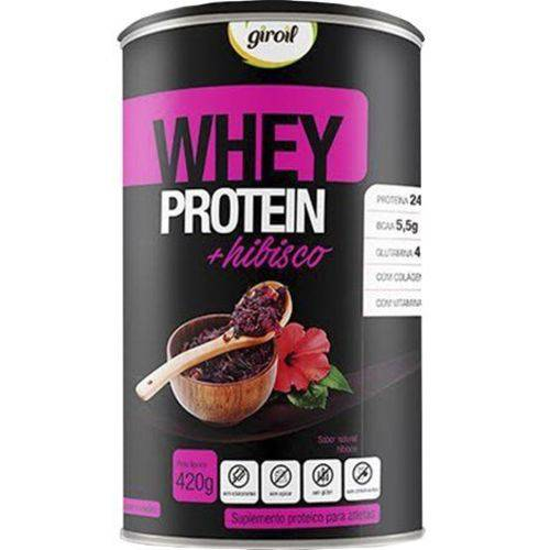 Whey Protein + Hibisco 420g Giroil