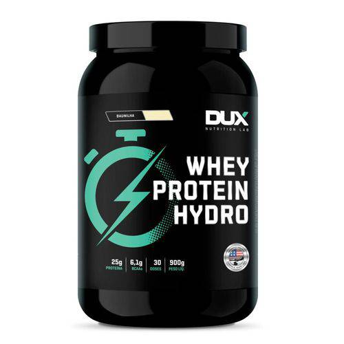 Whey Protein Hydro 900g Baunilha - Dux Nutrition