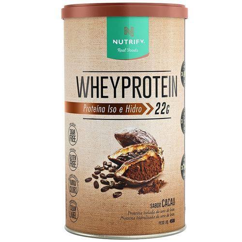 Whey Protein Isolada e Hidrolisada (450g) - Nutrify