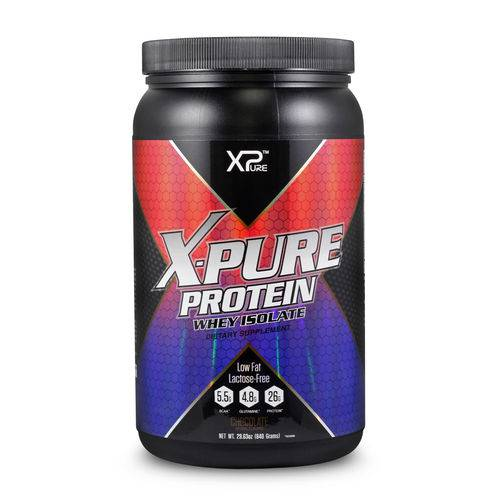 Whey Protein Isolate Chocolate 840g - X-Pure