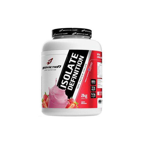 Whey Protein Isolate Definition Body Action 2kg