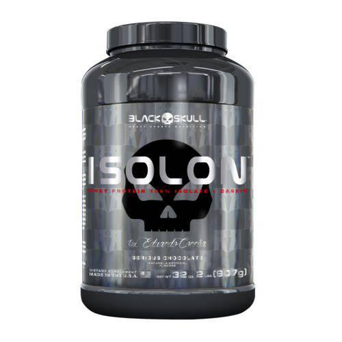 Whey Protein Isolon Black Skull By Eduardo Corrêa - 907g - Chocolate