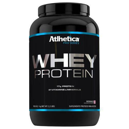 Whey Protein Morango Pro Series 1kg - Atlhetica