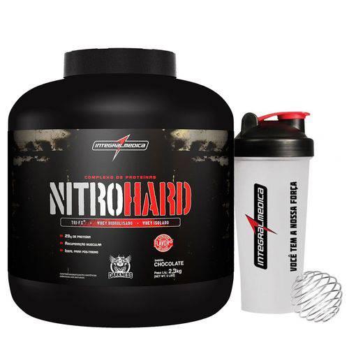 Whey Protein NITRO HARD Darkness 2,3kg + Coqueteleira - IntegralMedica