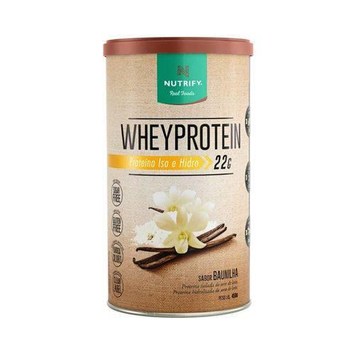 Whey Protein Nutrify 450g - Baunilha