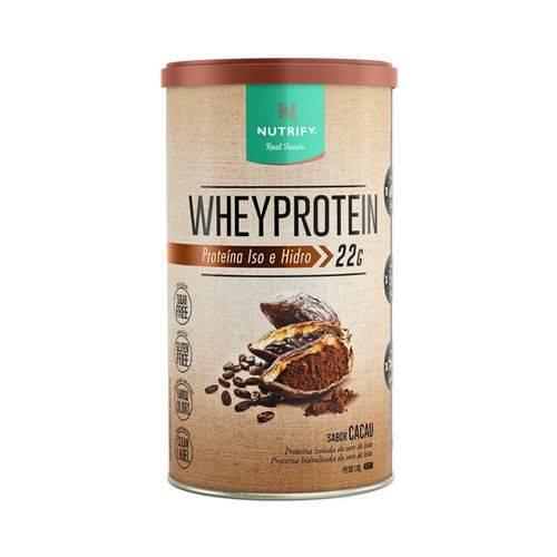 Whey Protein Nutrify 450g - Cacau