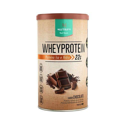 Whey Protein Nutrify 450g - Chocolate