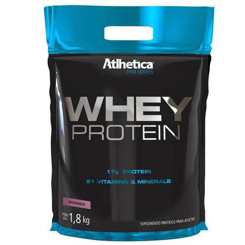 Whey Protein Premium Pro Series SC 850g - Morango - Atlhetica Nutrition