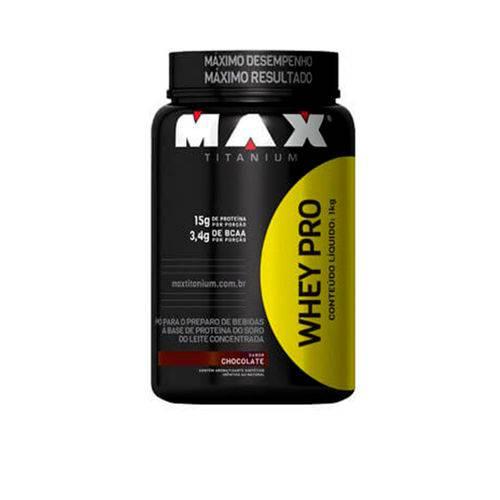 Whey Protein Pro 907 Gr Max Titanium