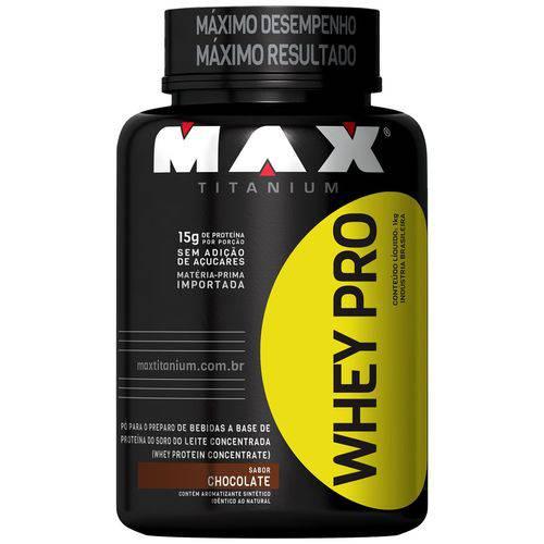 Whey Protein Pro Max Titanium Concentrado 1 Kg