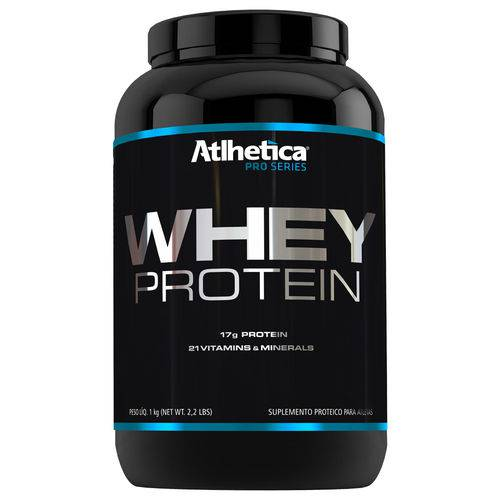 Whey Protein Pro Series - 1000gr - Atlhetica Nutrition - Sabor Baunilha