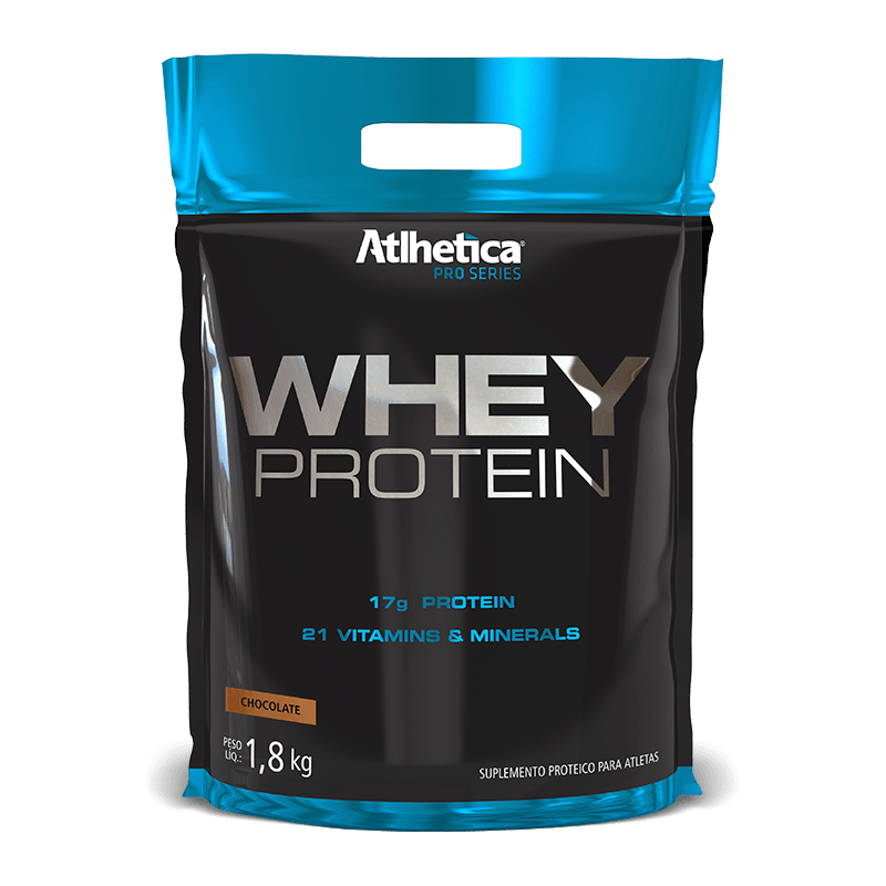 Whey Protein Pro Series (1800g-Refil) Atlhetica Nutrition-Chocolate