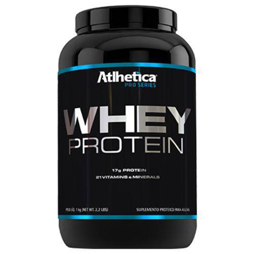 Whey Protein Pro Séries 1kg - Baunilha - Atlhetica Nutrition