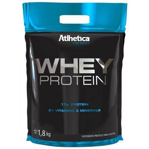 Whey Protein Pro Series Atlhetica - 1,8 Kg - Bauni
