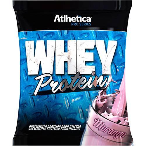 Whey Protein Pro Series Refil Morango 500g - Atlhetica