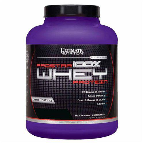 Whey Protein Prostar 100% 2390g Ultimate Nutrition