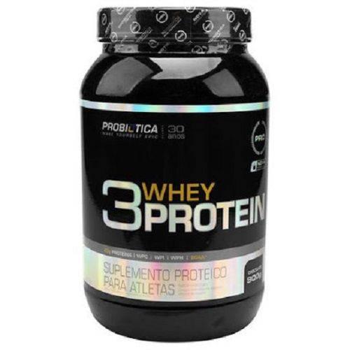Whey Protein 3W 900g Probiotica Chocolate