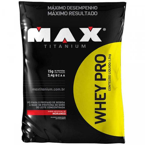 Whey Protein Whey Pro Refil Max Titanium