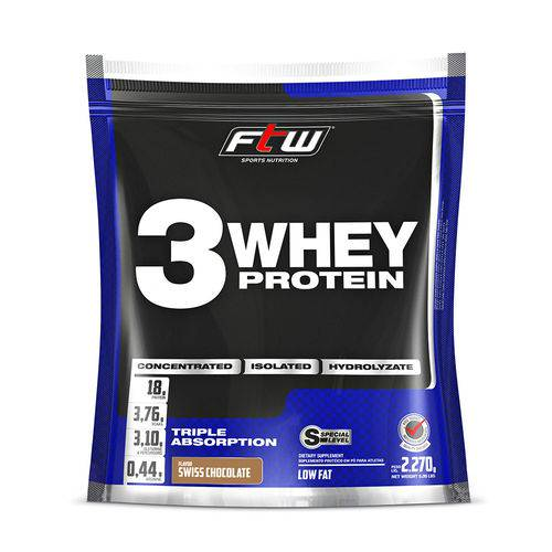 Whey 3w Ftw - Refil 2270g - Chocolate