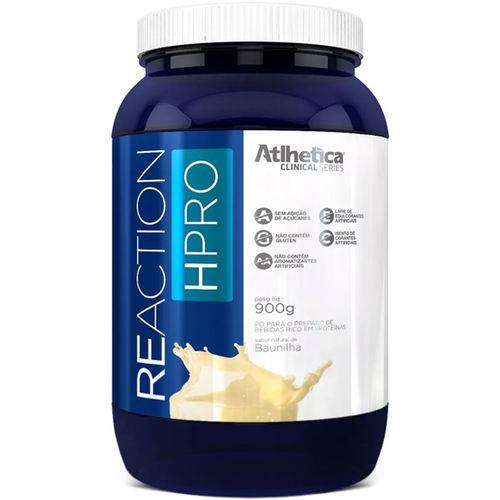 Whey 2w Reaction Hpro (900g) - Atlhetica Nutrition