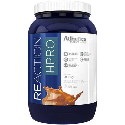 Whey 2w Reaction Hpro (900g) - Sabor Chocolate - Atlhetica Nutrition