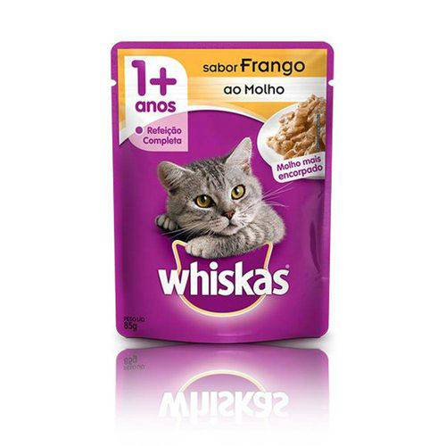 Whiskas Sache para Gatos 85 Gramas