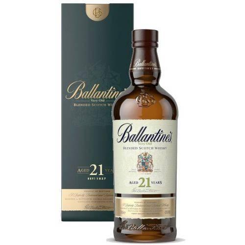 Whisky Ballantine's 21 Anos 700 Ml