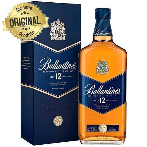 Whisky Ballantines 12 Anos - 1L