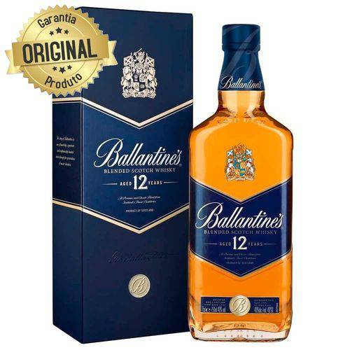 Whisky Ballantines 12 Anos - 750ml