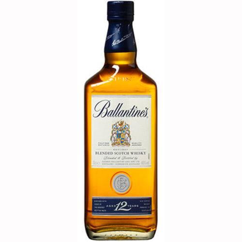 Whisky Ballantines 12 Anos Garrafa 750 Ml