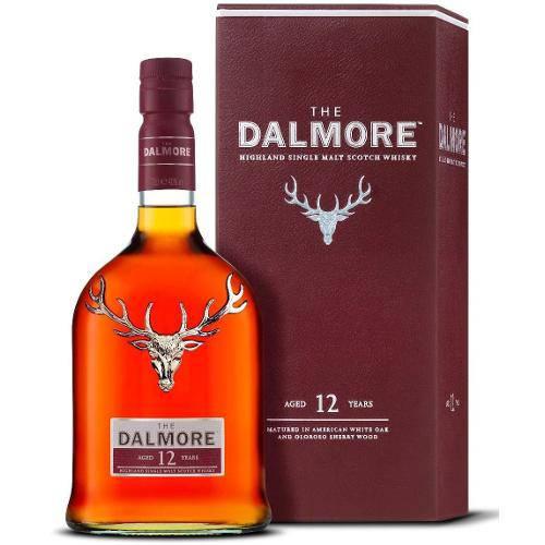 Whisky Dalmore 12 Anos 700 Ml - Single Malt