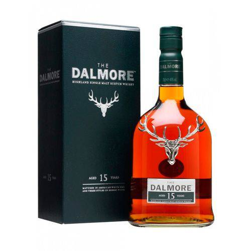 Whisky Dalmore Single Malt 15 Anos 700ml