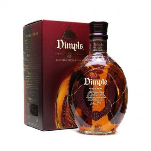 Whisky Dimple 15 Anos Blended Scotch
