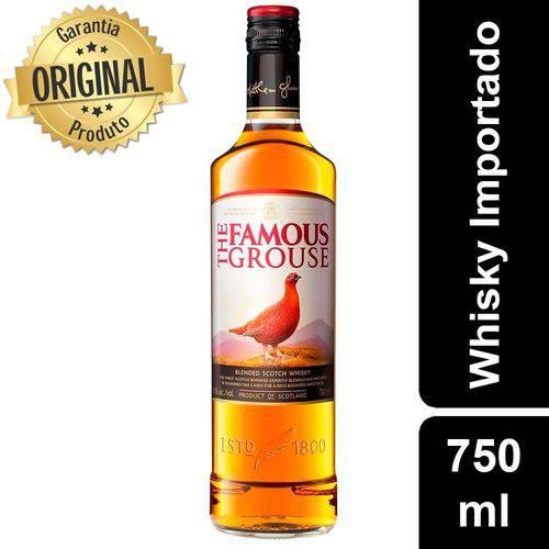 Whisky Escocês The Famous Garrafa 750ml - Grouse