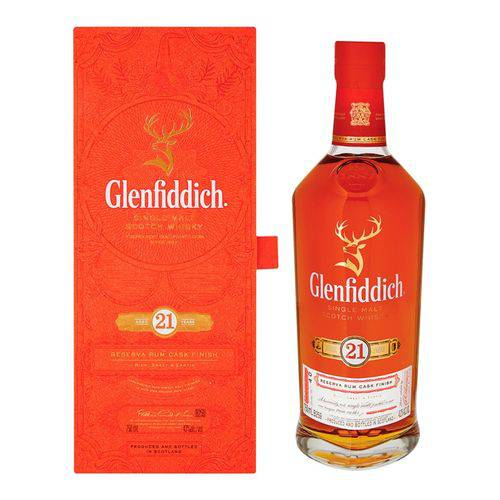 Whisky Glenfiddich 21 Anos Single Malte 700ml