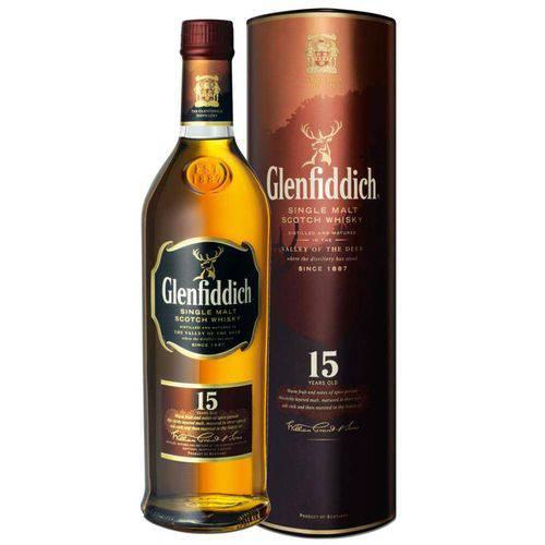 Whisky Glenfiddich 15 Anos 750 Ml