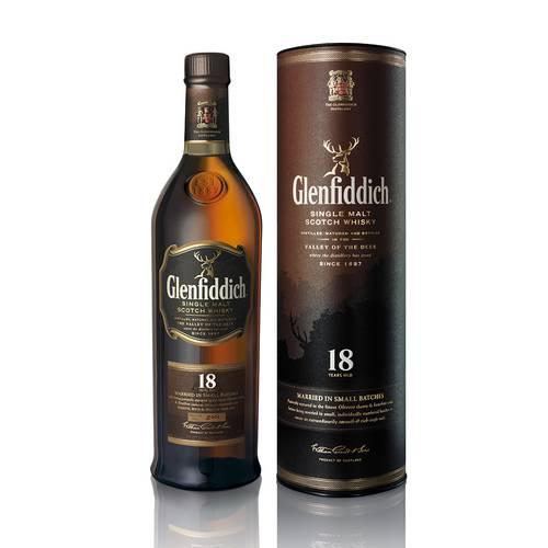 Whisky Glenfiddich Single Malt 18 Anos 750ml
