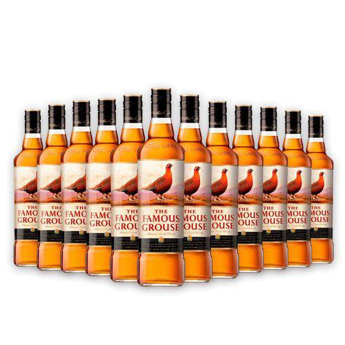 Whisky The Famous Grouse 12x 750ml