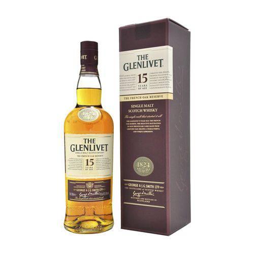 Whisky The Glenlivet 15 Anos